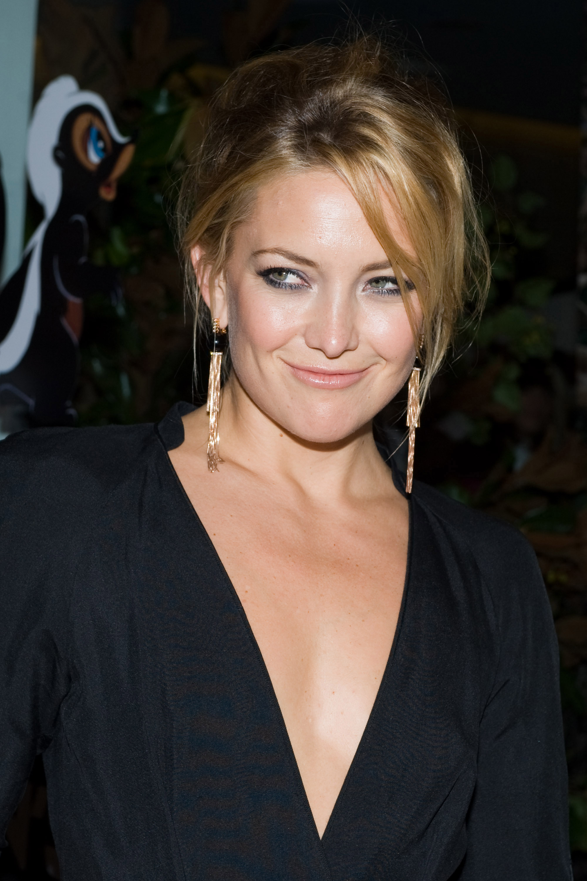 Actress Kate Hudson attends Fashion's Night Out at the Stella McCartney shop in New York, New York on Thursday.