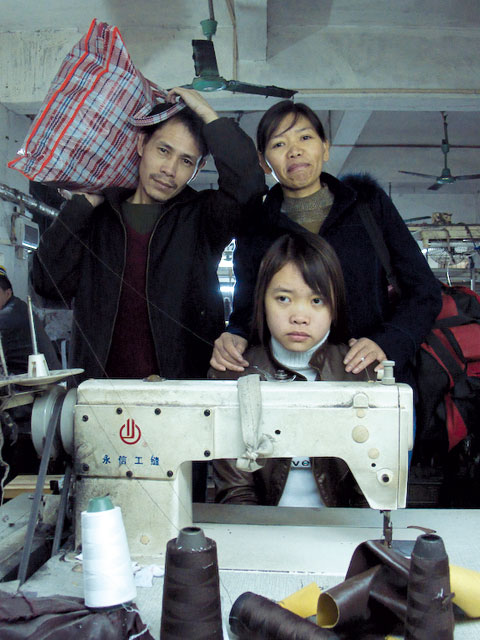 A family from Last Train Home released in 2009. Photo Courtesy of CNEX