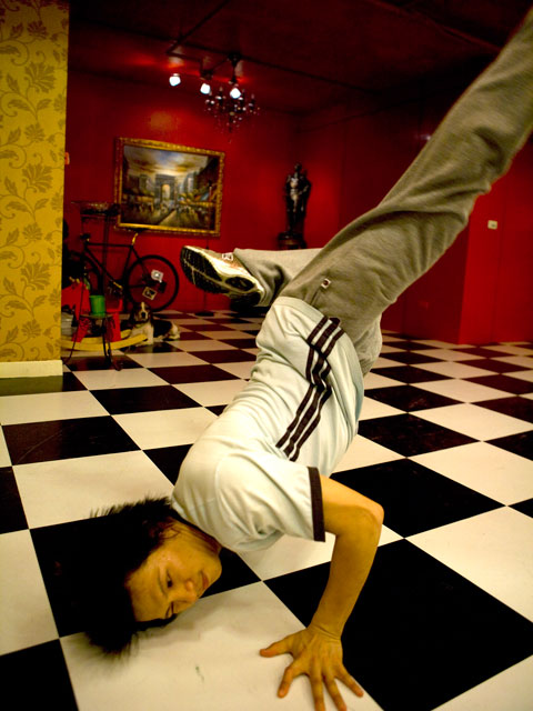 A veteran street dancer from Hip-Hop Storm released in 2010.  Photo Courtesy of Flash Forward Entertainment