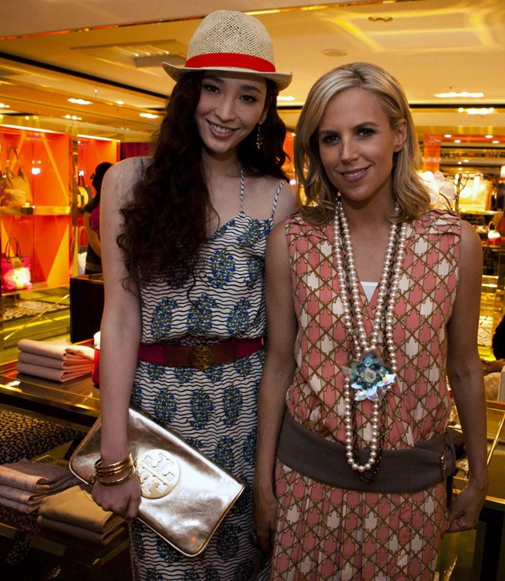當代美國女性設計師Tory Burch 首次蒞臨台灣參加麗晶精品Tory Burch 形象店開幕