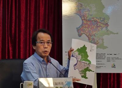 Taipei Vice Mayor Charles Lin.