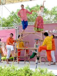 Center Yilan highlighting Philippine traditional arts