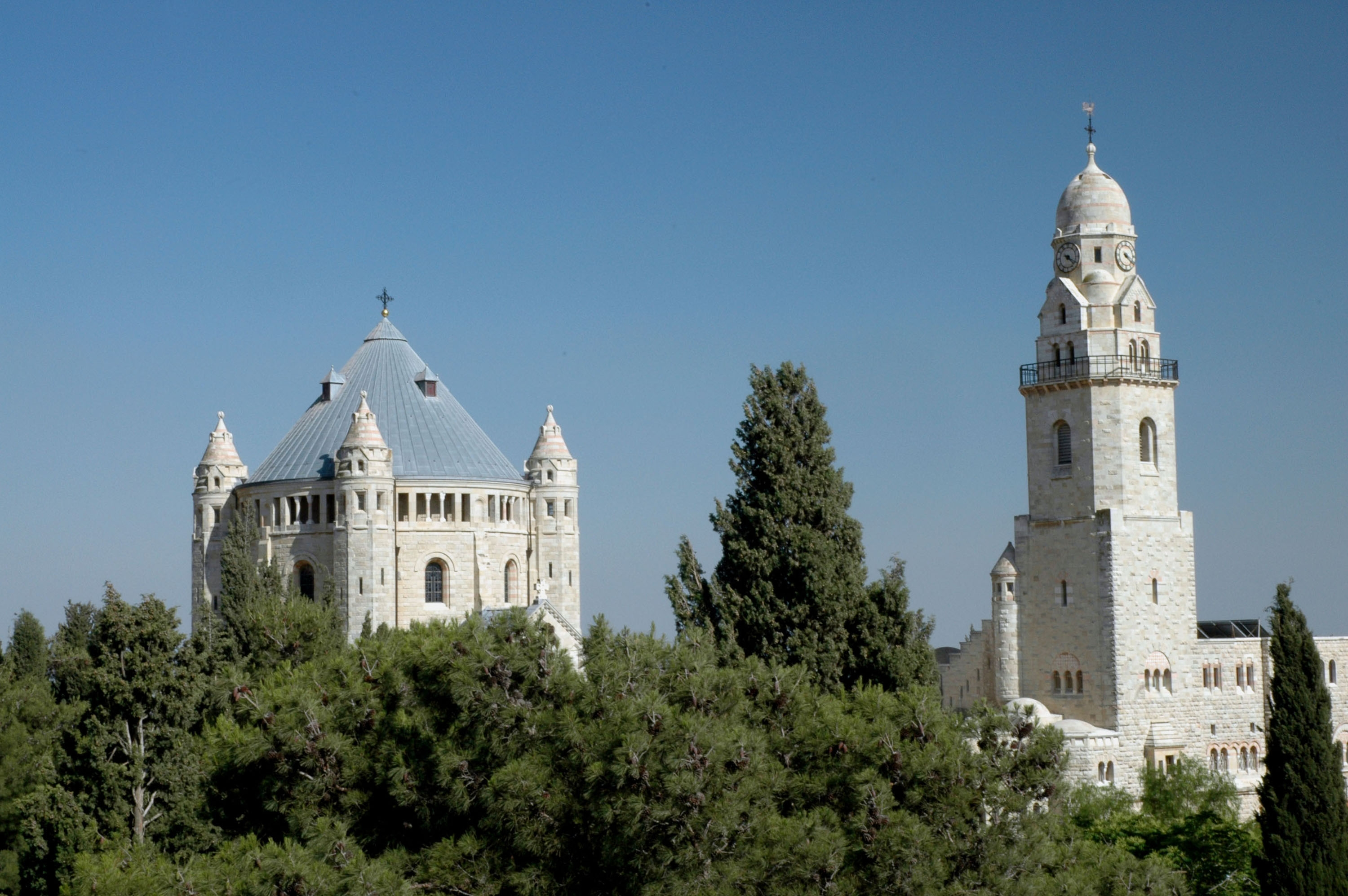 Mt. Zion is the highest point in the old city of Jerusalem.