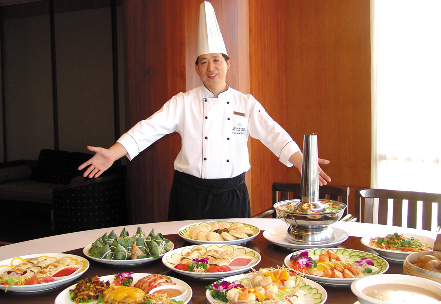Hotel Royal Hsinchu offers Chinese northeast cuisine