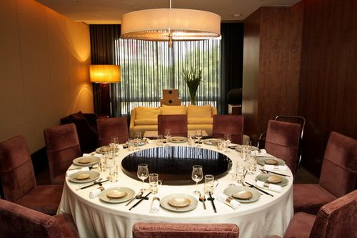 Taiwan News One of the private dining rooms at Pearl Liang