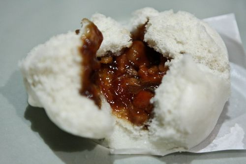 Taiwan News The stuffing of ¡§Cha Shao Bao¡¨ at Pearl Liang is made the way pastry makers did 30 years ago.
