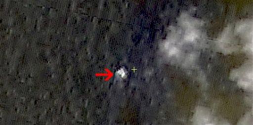 In this March 9, 2014 satellite image seen on the website of the Chinese State Administration of Science, Technology and Industry for National Defense...