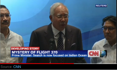 Malaysian leader: plane's disappearance deliberate