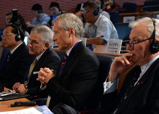 Participants of an International Conference on Homeland Security in Taipei