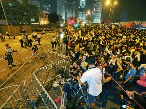 HK chief executive refuses to resign, but will tolerate protests