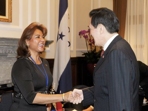 Extolling Taiwan's long-term diplomatic relations with Honduras, President Ma Ying-jeou said to a visiting official from the Latin American ally Tuesd...