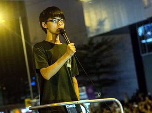 Occupation will go on if Beijing shows no goodwill: HK students