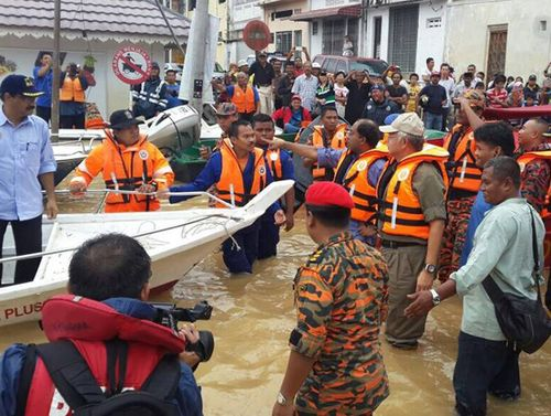 A team of 31 medical workers and volunteers put together by a Taiwanese search and rescue organization and the Buddha's Light International Associatio...