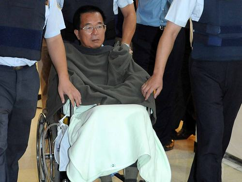 Chen Shui-bian to stay in prison at least until Jan. 5