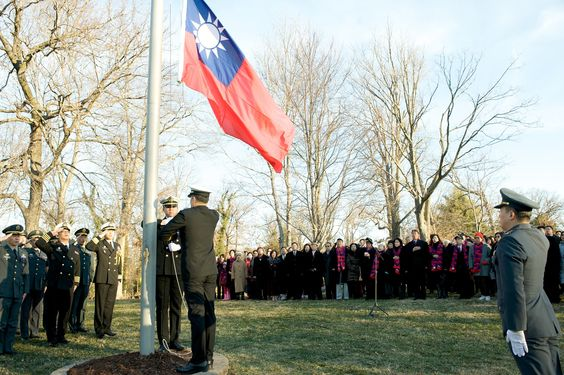 After 36 years, ROC national flag again hung at U.S. historic site