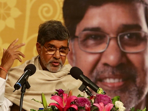 Nobel laureate Satyarthi touts Taiwan for giving voice to children