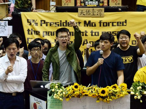 More than 100 Sunflower Movement activists indicted