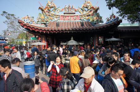 Zi Nan Temple most popular wealth god temple in Taiwan