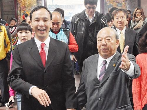 New Taipei mayor to visit Singapore, Hong Kong