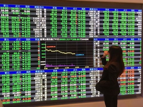 Shares in Taiwan took a beating Wednesday as the bellwether electronics sector encountered heavy downward pressure amid concerns over the market outlo...