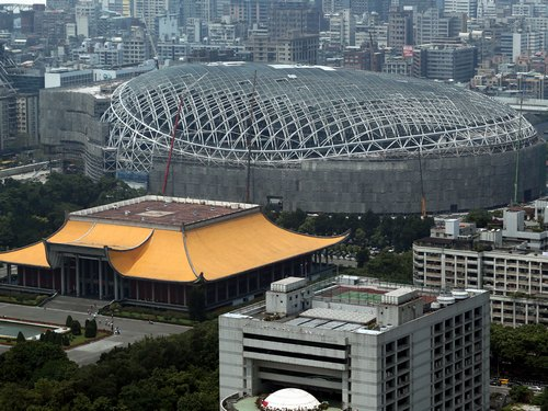 City government orders suspension of work on Taipei Dome