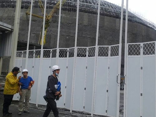 Taipei City government orders dome construction halt