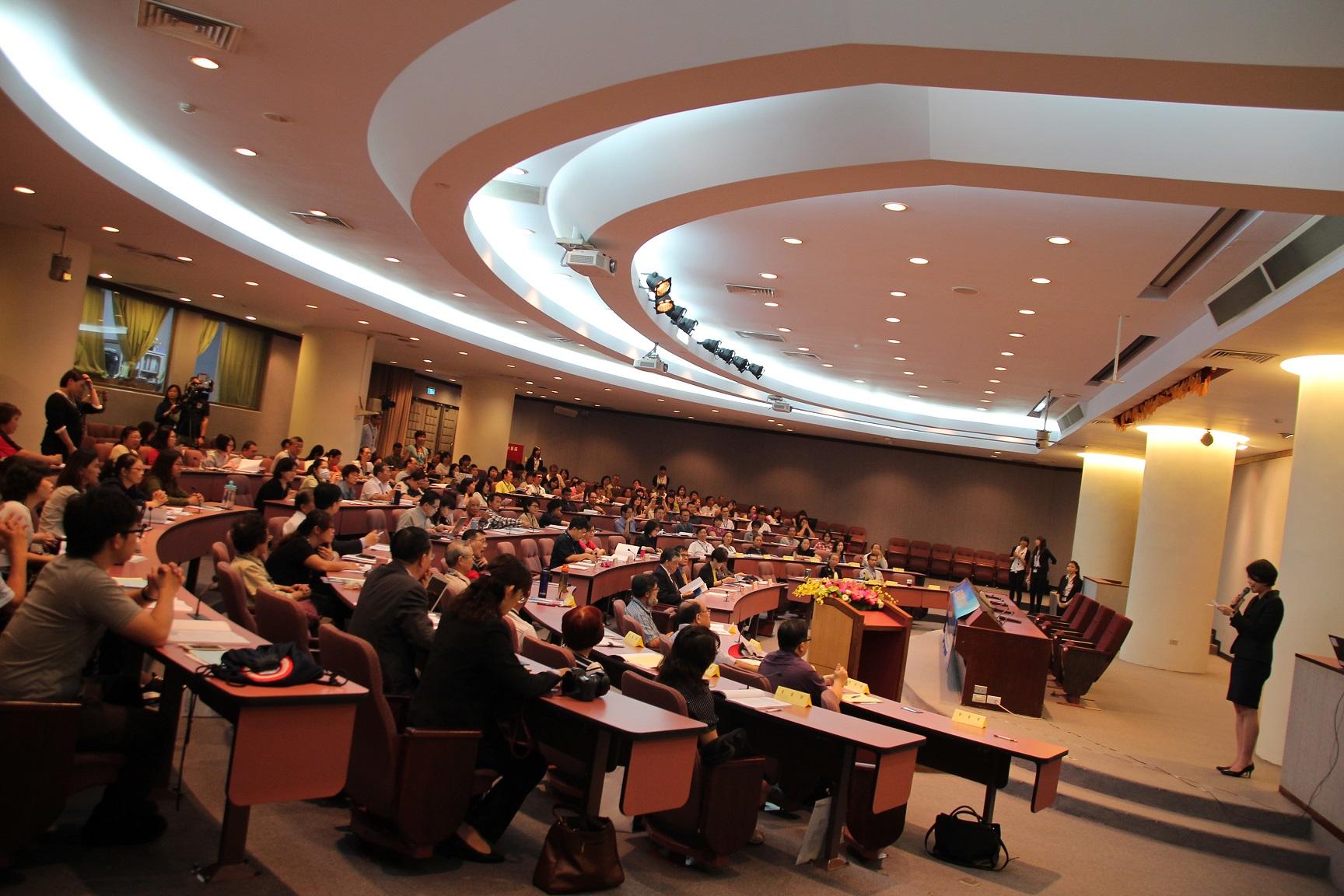 「2015 社會企業國際論壇」2日在新竹交通大學舉辦。