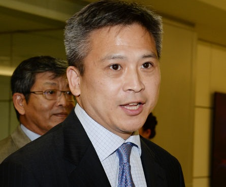 New AIT Taipei office director Kin Moy arrives