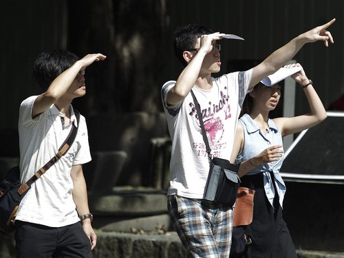 The Central Weather Bureau warned Thursday of excessive or even dangerous levels of ultraviolet rays amid clear sky and high temperatures that are fo...