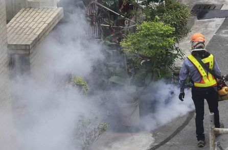 Dengue fever cluster reported in Kaohsiung