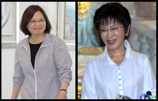 Tsai and Soong lead Hung in new poll