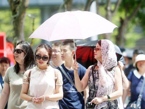 EPA warns of dangerous UV levels all over Taiwan