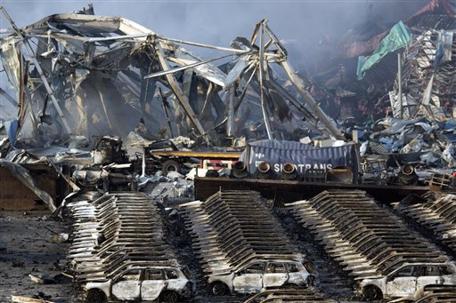 Deadly China blast disrupts world's 10th largest port