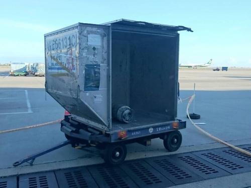 Suspicious cargo raises panic at TTIA