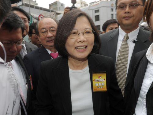 Tsai attends National Day ceremony, calls for unity