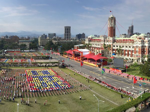 Ma reasserts status quo at National Day ceremony