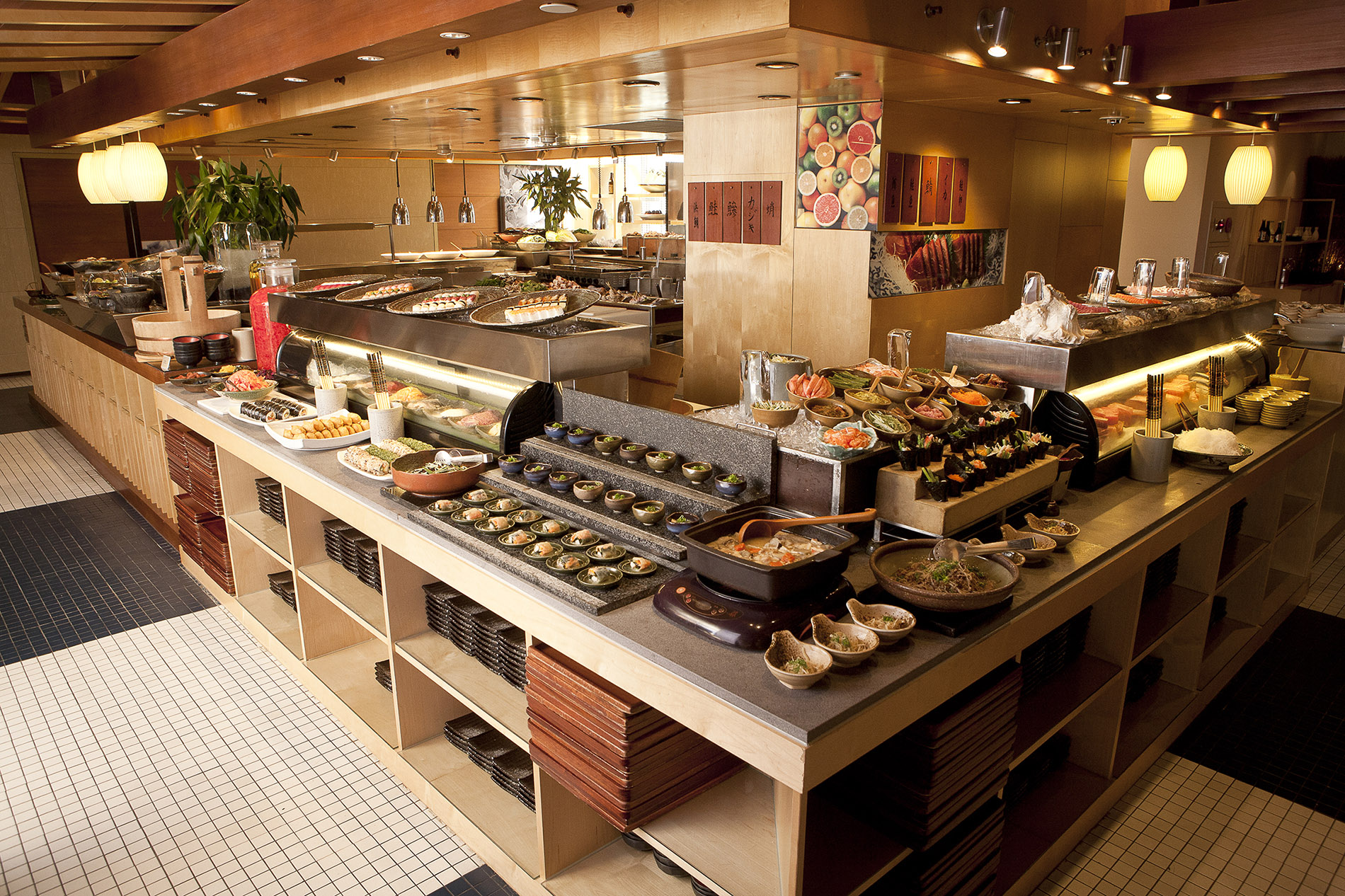 Lunch or dinner buffet at Irodori for four people. (Valid Monday to Friday lunch only; difference of NT$200 can be paid when used on Friday dinner and...
