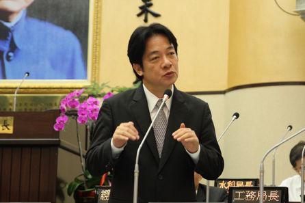 Tainan mayor reprimanded