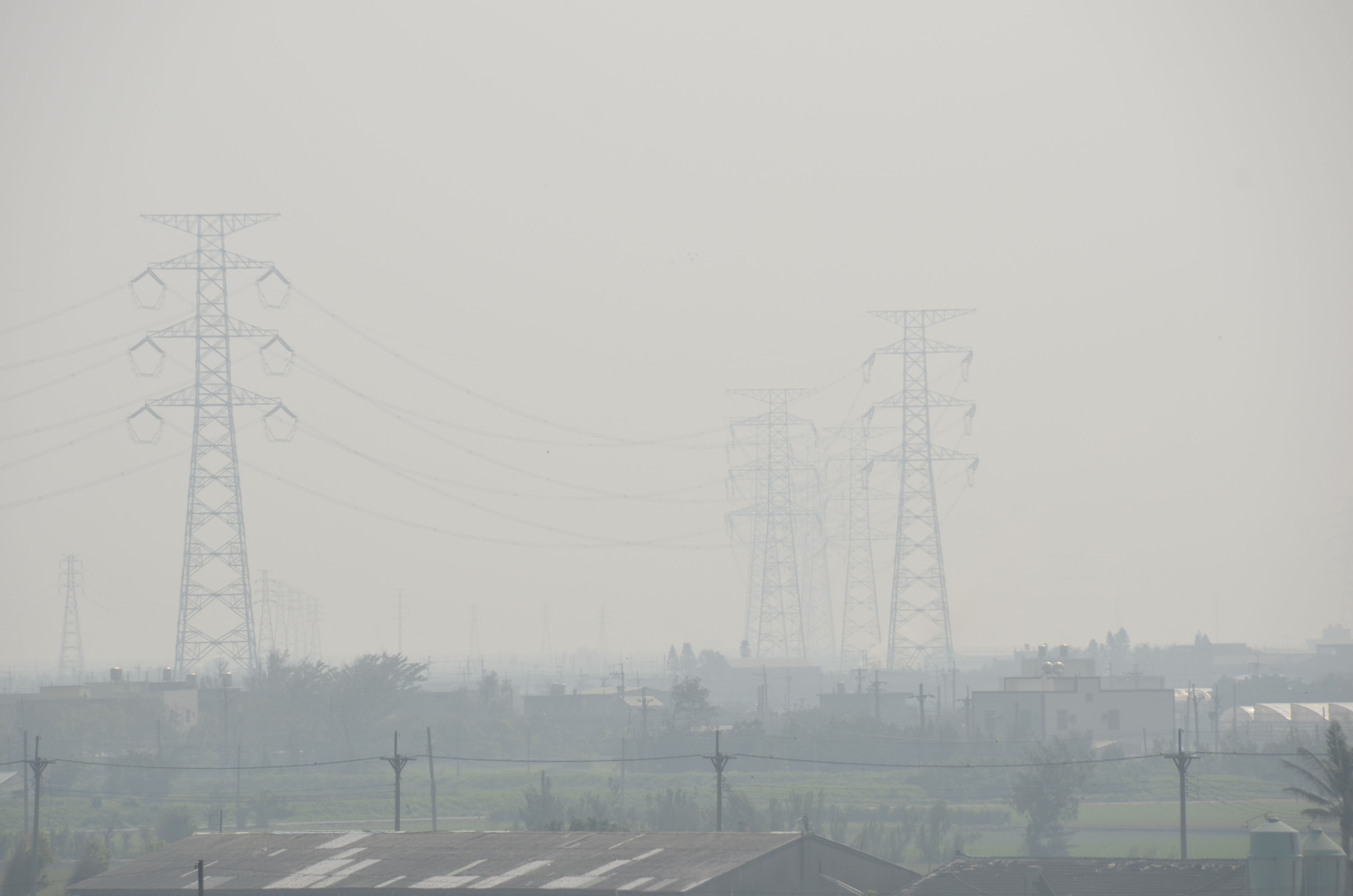 Poor air quality forecast to continue in central, southern Taiwan