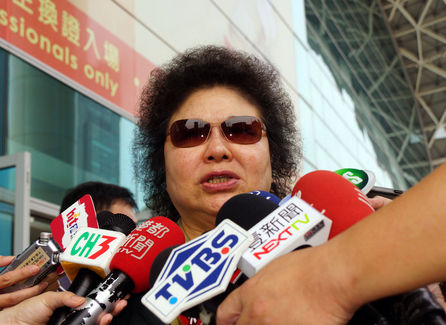 Chen Chu confirms Tsai's VP choice