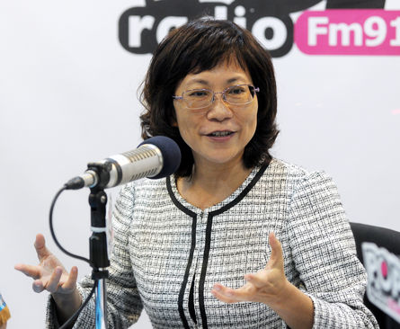 KMT VP candidate under fire