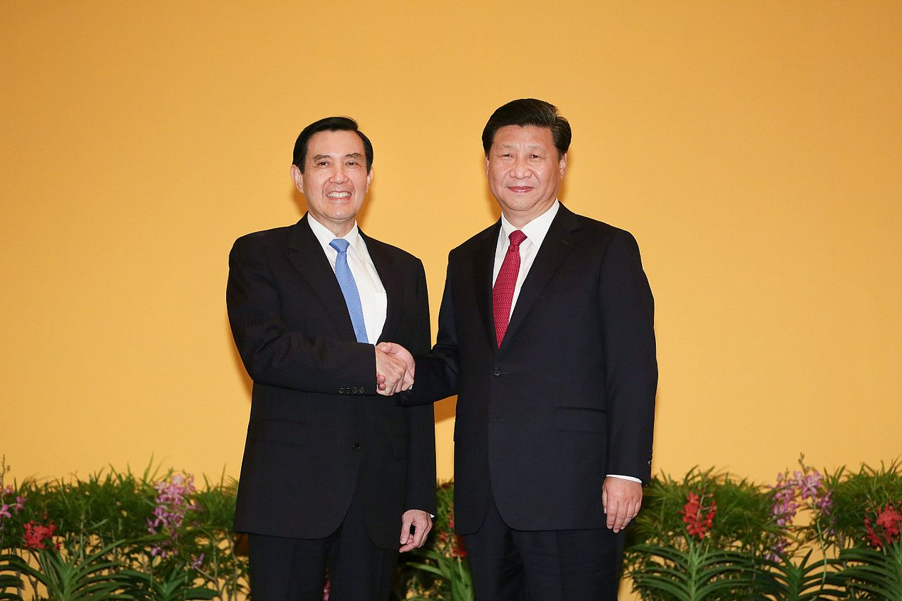 (photo courtesy of Office of President, Republic of China)