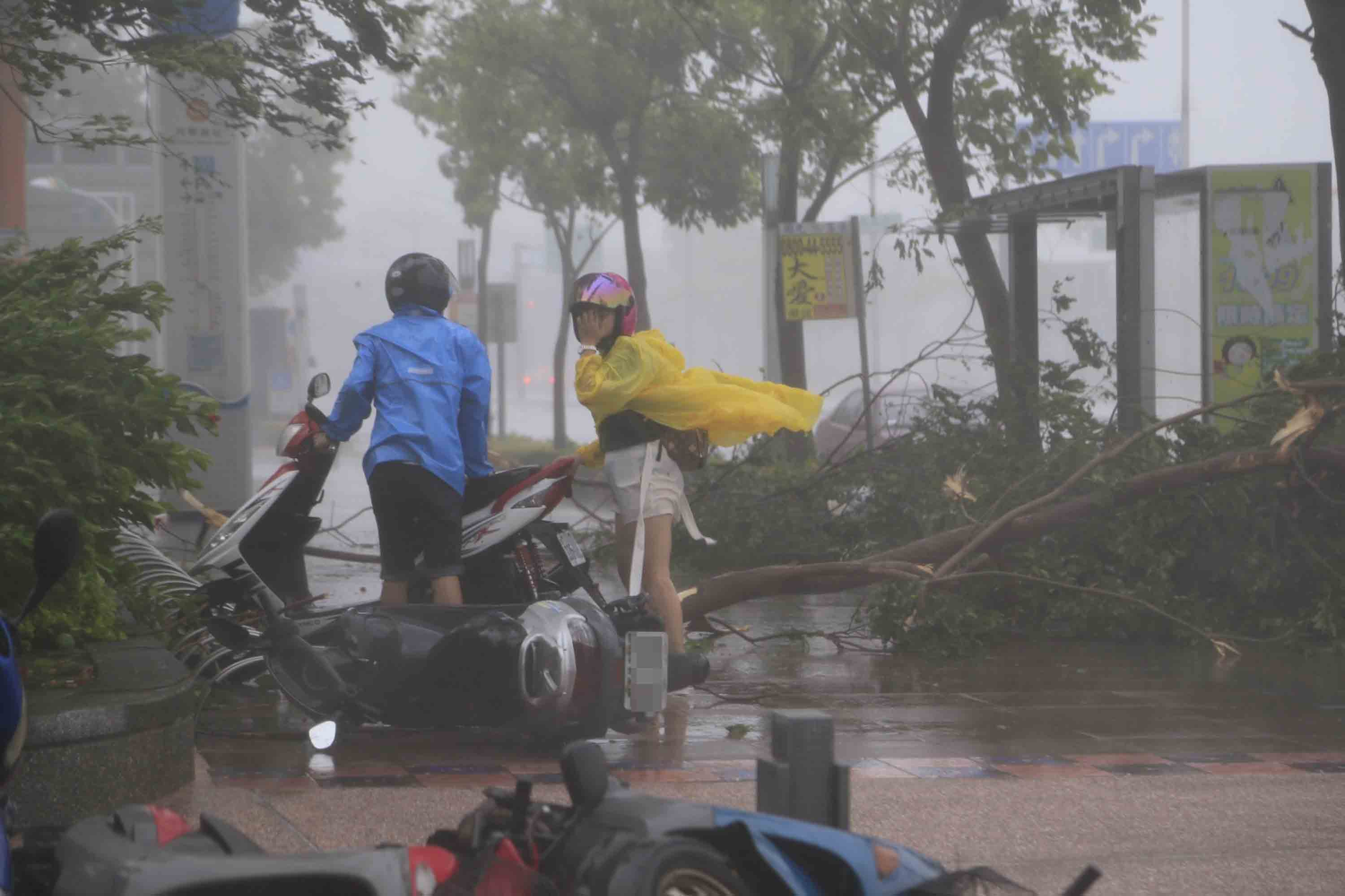 Official: Overtime pay on typhoon days off nontaxable