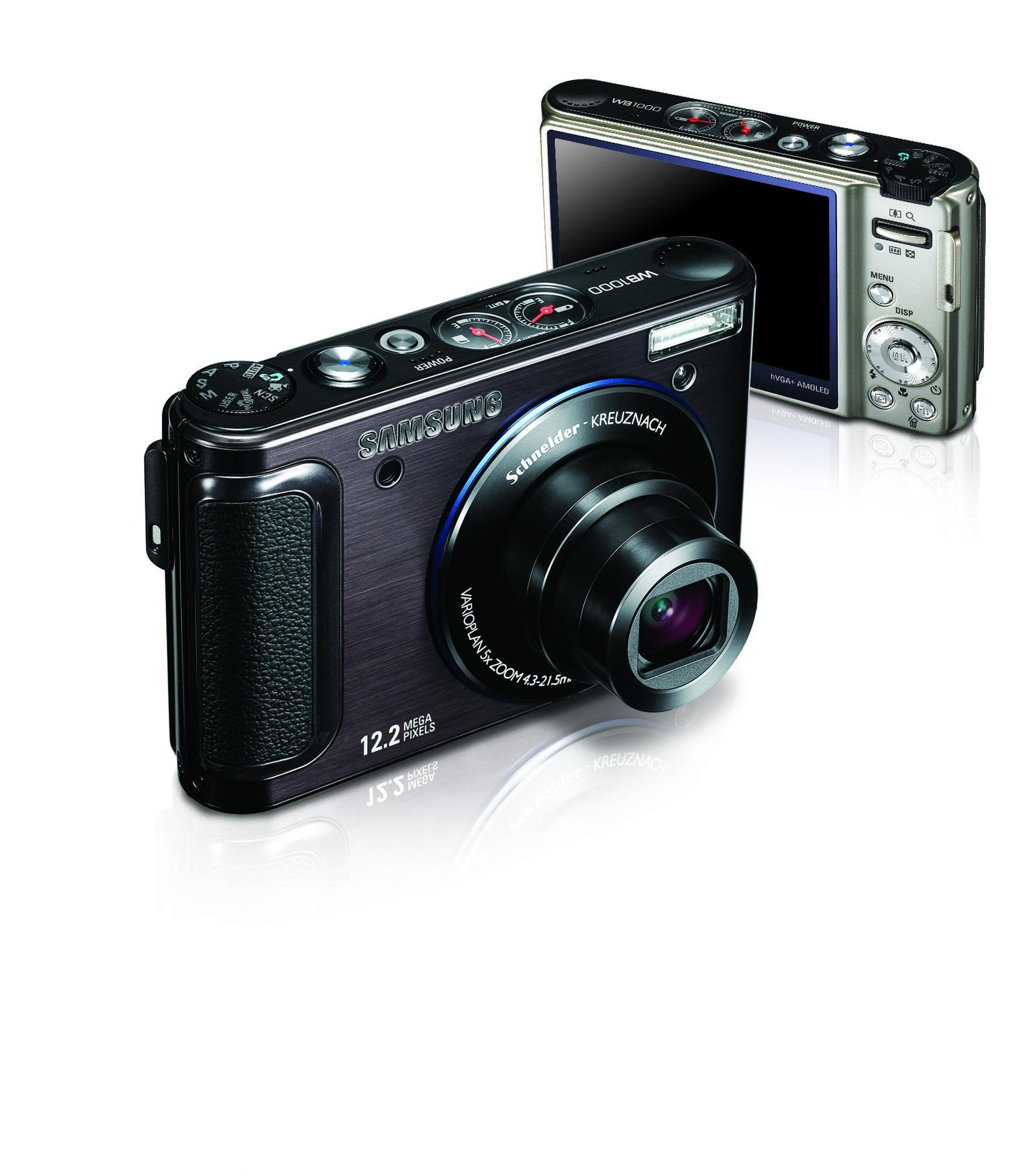 智動至能 革新創見 SAMSUNG 數位相機WB1000更省電 玩更久 1200萬畫素 3吋AMOLED螢幕 首創「智慧控制轉盤」設計...