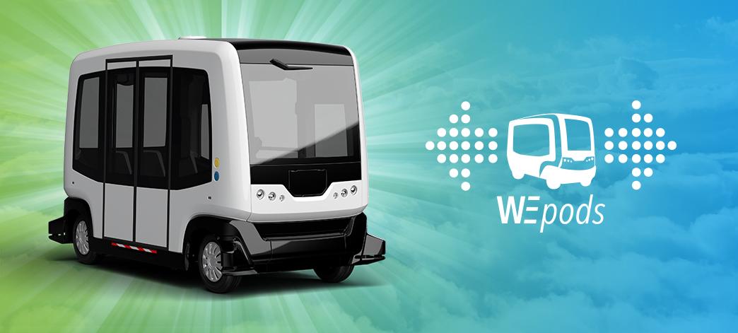 全世界第一台無人駕駛自動車WEpod將於今(2015)年11月於荷蘭正式上路,是第一台可以和其他車輛並肩同行的車輛。