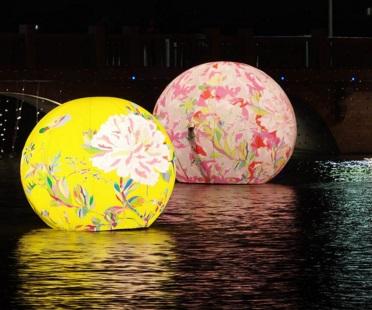 明(22)天就是元宵節,接下來有個長達三天的二二八連假,還沒規劃要怎麼度過的民眾,可以參考北中南重點燈會。圖為2016台南月津港燈會的燈區