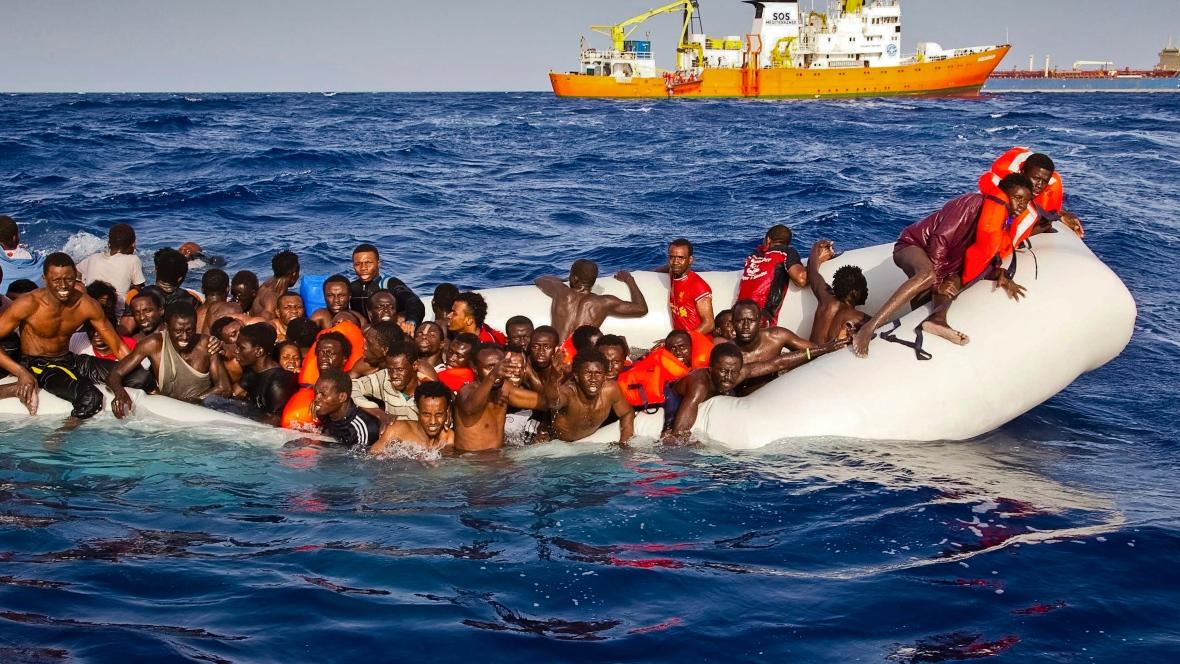 不成功便成仁 地中海難民船難又一樁