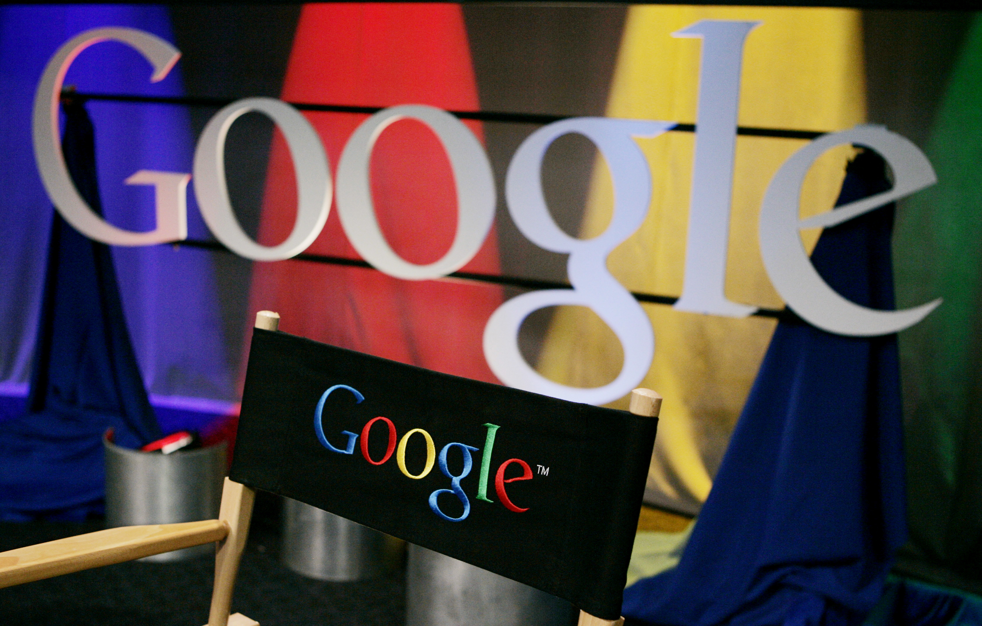 A Google sign inside Google headquarters is seen in Mountain View, California in this May 2007 file photo.