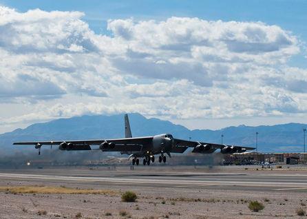 An American B-52 bomber last week flew near a Chinese artificial island in the South China Sea. Navy Commander Bill Urban, a Pentagon spokesman, said ...