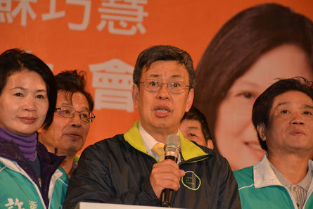 DPP vice-presidential candidate Chen Chien-jen said on Sunday that the DPP would strive for new immigration policies if elected, to provide assurance ...